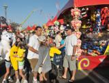This Family Has Stuffed Bananas as Prizes!
