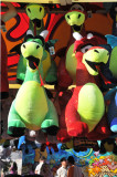 Huge Stuffed Dragons (compare size with persons below!)