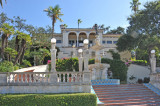 Stairs up to Hearst Castle, The Enchanted Hill