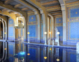 Roman Indoor Pool, lined with Venetian glass and gold!