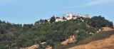 Distant View of Hearst Castle, San Simeon