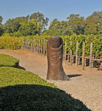 Bronze Thumb Statue by French Sculptor, Cesar Baldachini