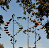 Wind Sculptures for Sale, by Lyman Whitaker, Chandon Winery