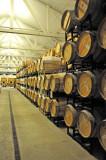 Wooden Barrels Wine Storage