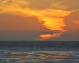 Afterglow of Sunset at Cambria