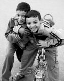 Faces of Egypt:  Friendly Pals.
