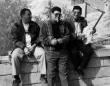 Faces of Egypt:  Trio with Unusual Musical Instrument!