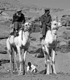 Faces of Egypt:  Mounted Guards.