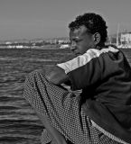 Faces of Egypt:  Felucca's Boat Helper.