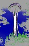 Space Needle; Seattle, WA