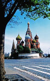 St. Basil's Cathedral; Moscow, Russia.