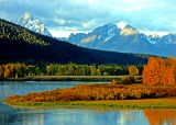 Morning at Grand Tetons National Park, WY