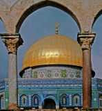 Dome of the Rock Mosque; Jerusalem, Israel