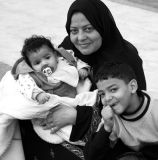Faces of Egypt:  Three in the Family