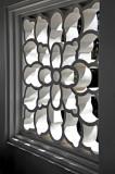 An Intricately-Crafted Lattice Window