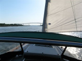 sailing into the Chesapeake & Delaware (C&D) Canal
