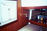 fwd cabin, berth to port