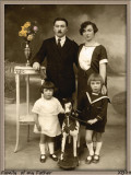 1926.My Father with his sister  and my Grandparents