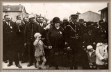 1932 My Father with his Gdmother at the Military Parade.