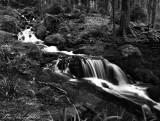 Gerardmer.Waterfall in another vision
