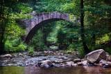 Gerardmer.The Stone Bridge