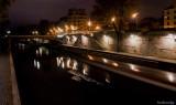 2.PARIS.Quai de Montebello with the Barge