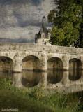 4.CHAMBORD.The  Bridge on the River