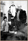 GREATFATHER AND ME AND SANTA CLAUS in 1957