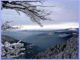 La SCHLUCHT.Winter Scenery