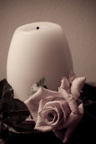 Candle and Rose 3