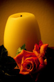 Candle and Rose 2