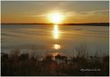 Sunset at Snow Goose Pool