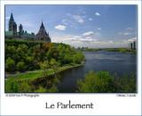 Le Parlement à Ottawa ...