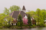 Spring at the Mill Pond Church  ~  May 25
