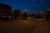 Evening on Main Street  ~  June 30