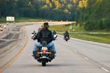 Motorcyclists Near Keystone