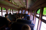 Inside One of the Passenger Cars