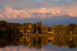 Sunset Autumn on the Mill Pond  ~  September 23