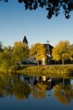Mill Pond Church Autumn  ~  September 26