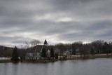 Cloudy Day at the Mill Pond  ~  November 9