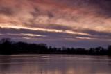 Mill Pond Sunset ~  November 19