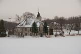 Mill Pond Church Winter  ~  December 30