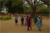 School Children Visiting