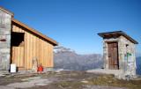 WC-Häuschen bei der Leglerhütte