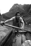 Shennong River boatman