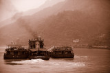 Yangtze river boats