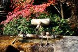 Kyoto fountain, Japan