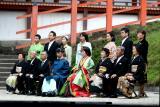 Traditional wedding, Kyoto, Japan