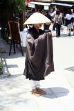 A monk in Kyoto, Japan