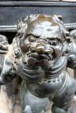 Detail from a lamp, Nara, Japan
